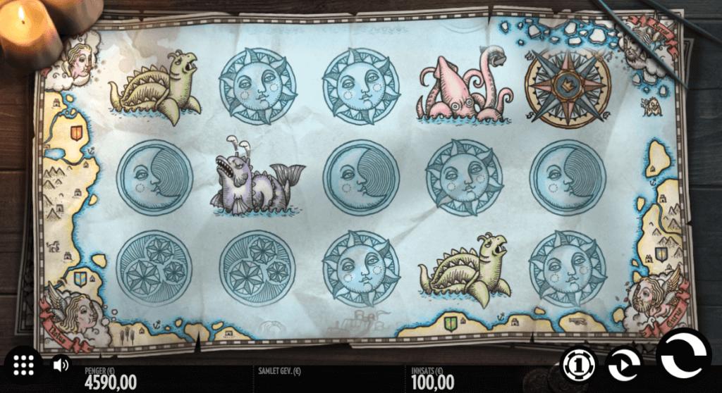 1429 Uncharted Seas - Spilleautomat med høy RTP
