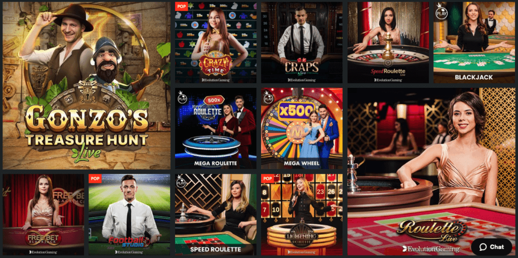 1Bet - Live Casino