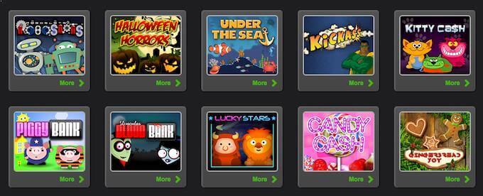 Spilleautomater av 1x2 Gaming