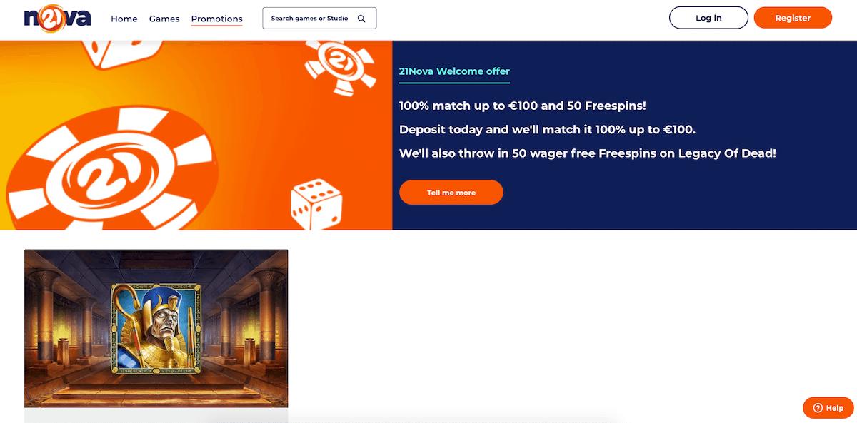 21Nova tilbud og kampanjer
