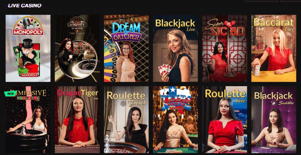 Betinia - Live Casino