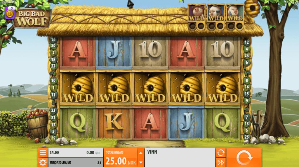Big Bad Wolf - En spennende spilleautomat med høy RTP