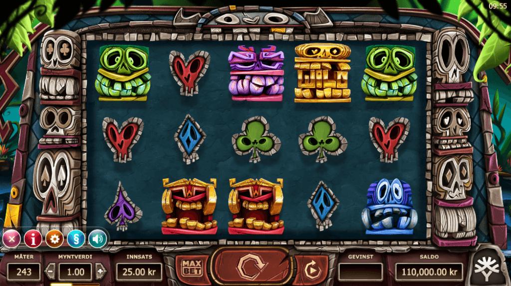 Spilleautomaten Big Blox av Yggdrasil