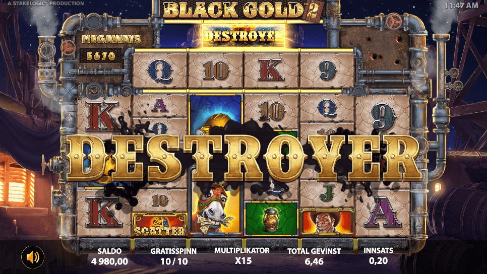 Black Gold 2 Megaways™ free spins