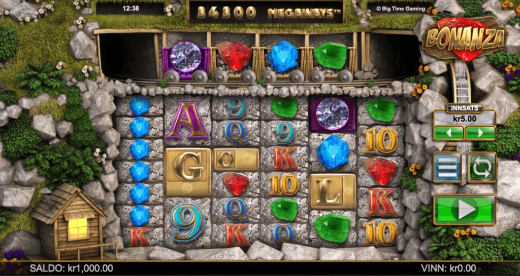 Spilleautomaten Bonanza Megaways™ av Big Time Gaming