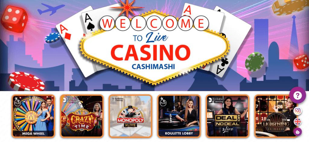 CashiMashi - Live Casino