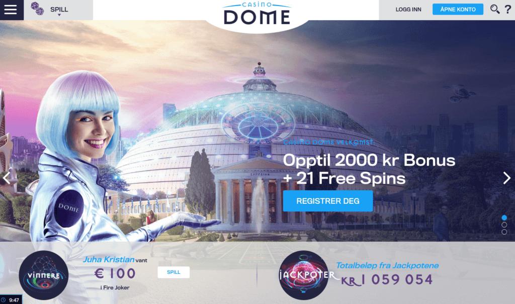 Casino Dome forside