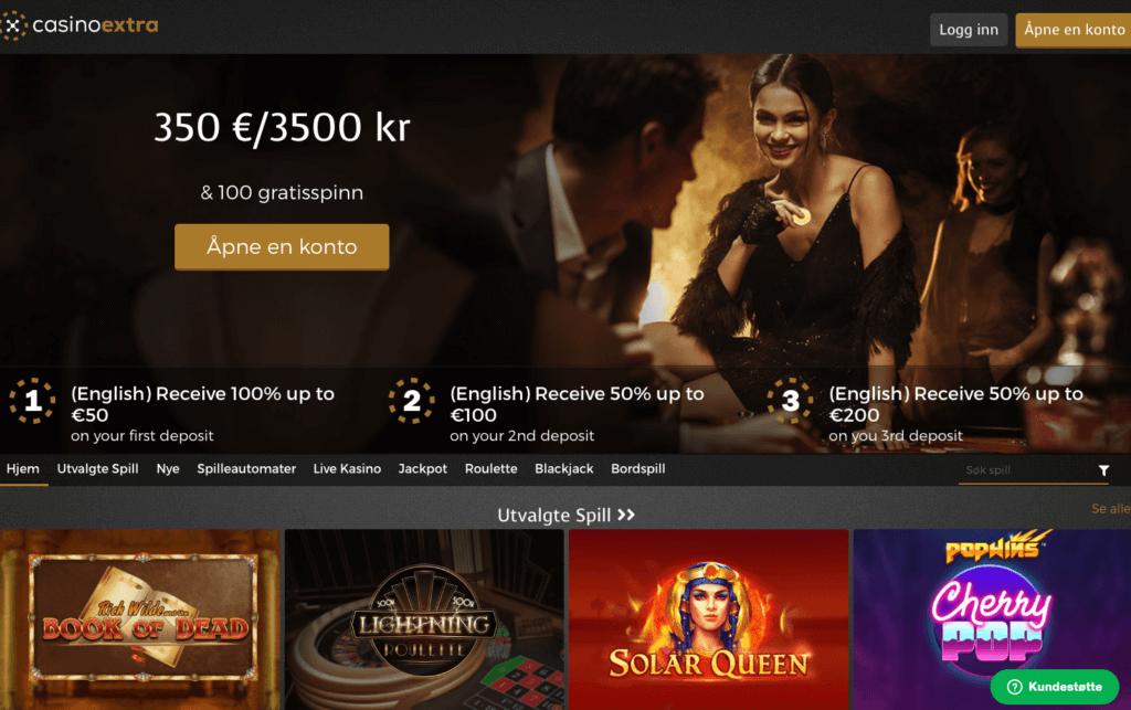Casino Extra forside
