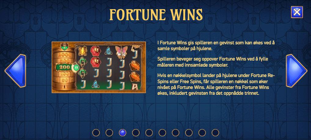 Codex of Fortune - Fortune Wins