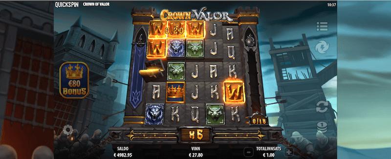 Crown of Valor - wild-symbolet