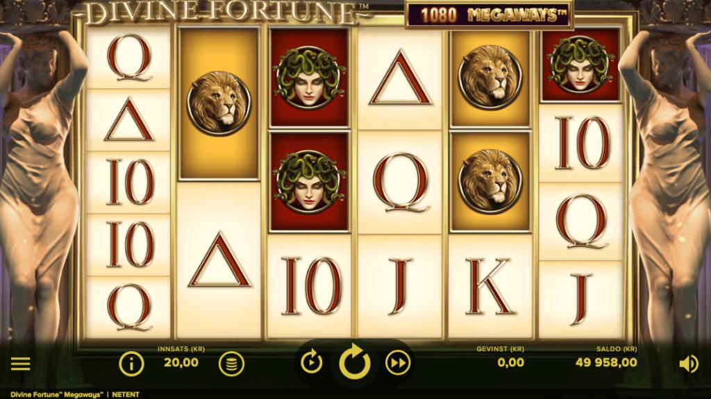 Spilleautomaten Divine Fortune Megaways™ av NetEnt
