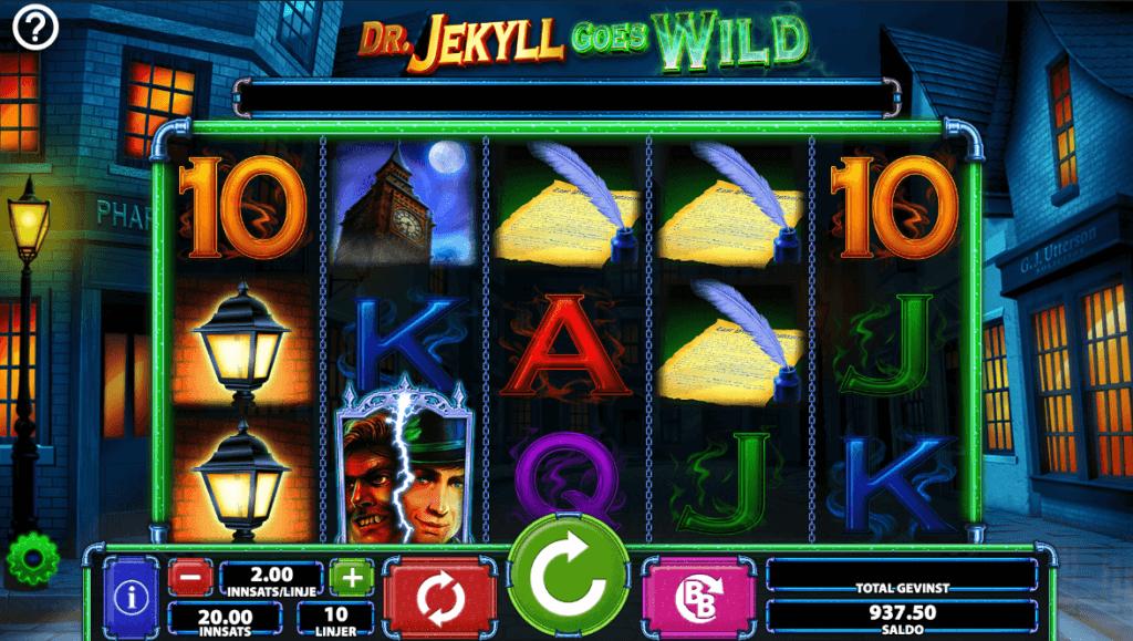 Dr. Jekyll Goes Wild - Spilleautomat med høy RTP