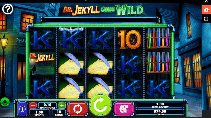 Dr Jekyll Goes Wild - gevinstkombinasjon