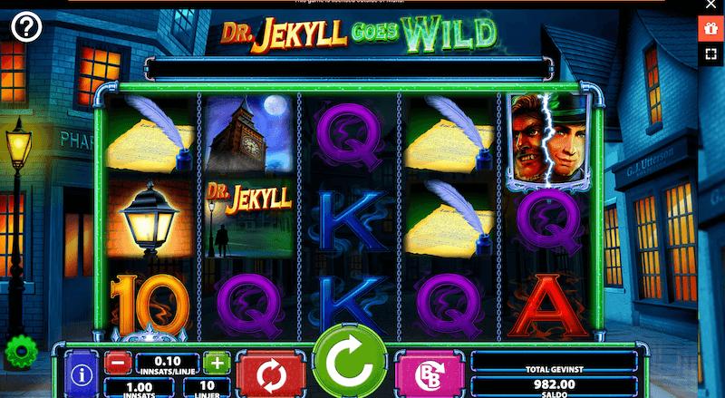 Dr Jekyll - slots
