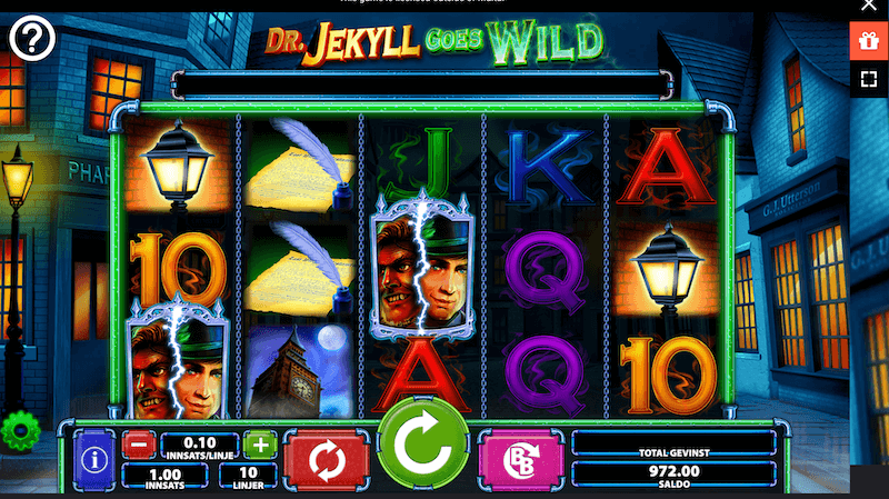 Dr Jekyll - wild-symbolet