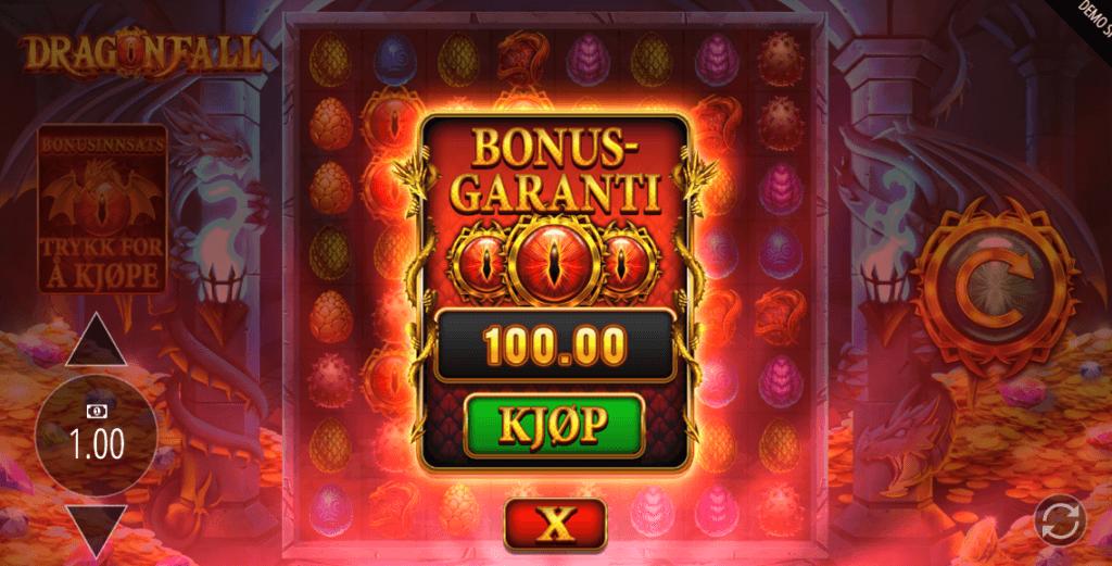 Dragonfall bonus buy-funksjon