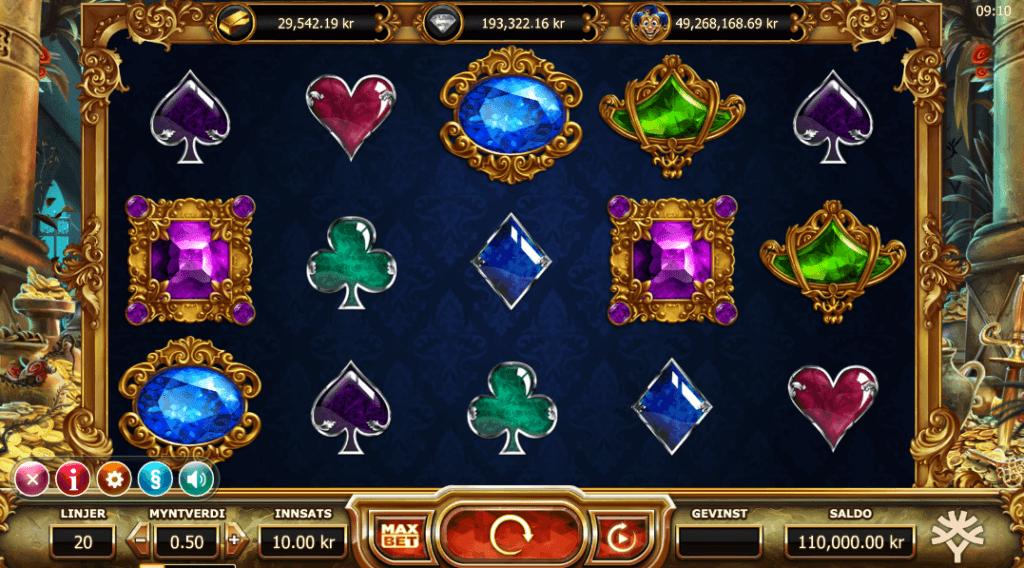 Spilleautomaten Empire Fortune av Yggdrasil