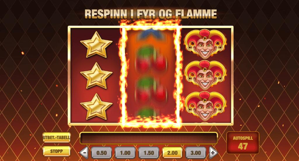 Fire Joker Respinn