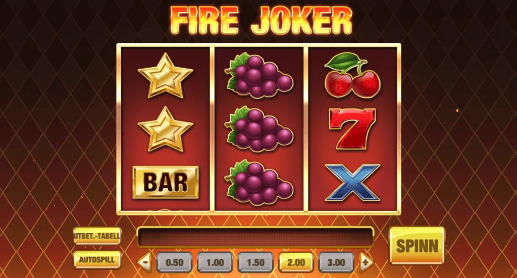 Fire Joker av Play'n Go