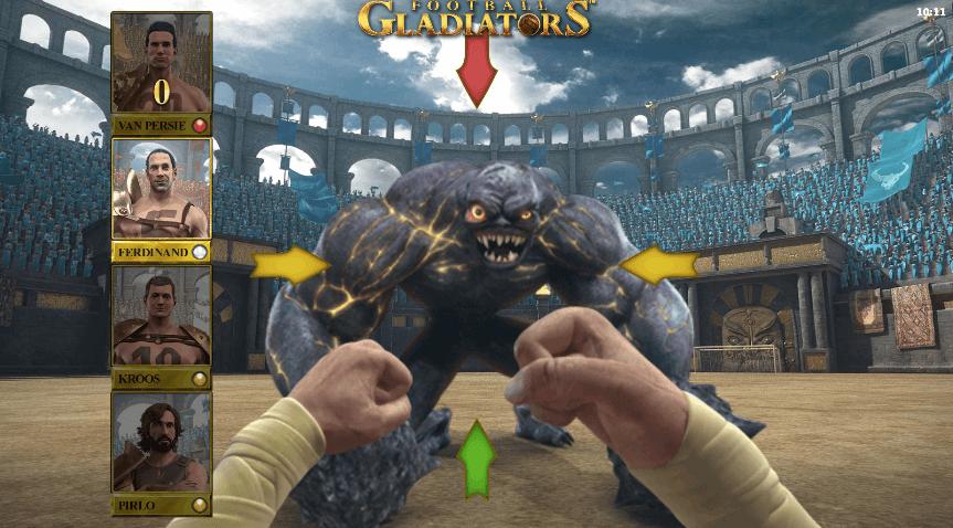 Football Gladiators bonusspill