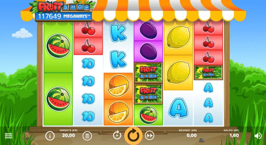 Spilleautomaten Fruit Shop Megaways™ av NetEnt