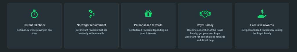 Gamdom belønninger