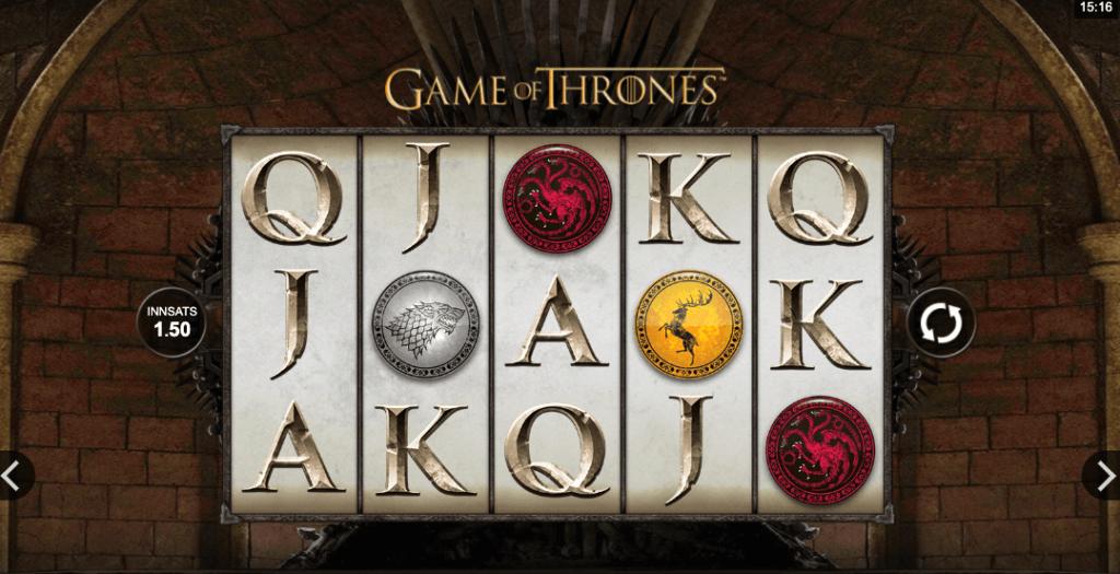 Spilleautomaten Game of Thrones av Microgaming
