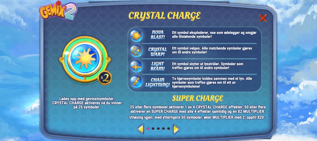 Gemix 2 - Crystal Charge og Super Charge