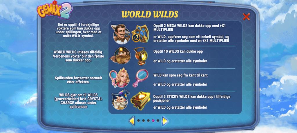 Gemix 2 wilds fra flere verdener