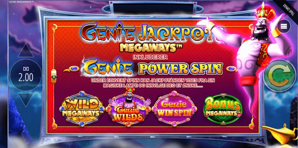 Genie Jackpots Megaways™ bonusspill