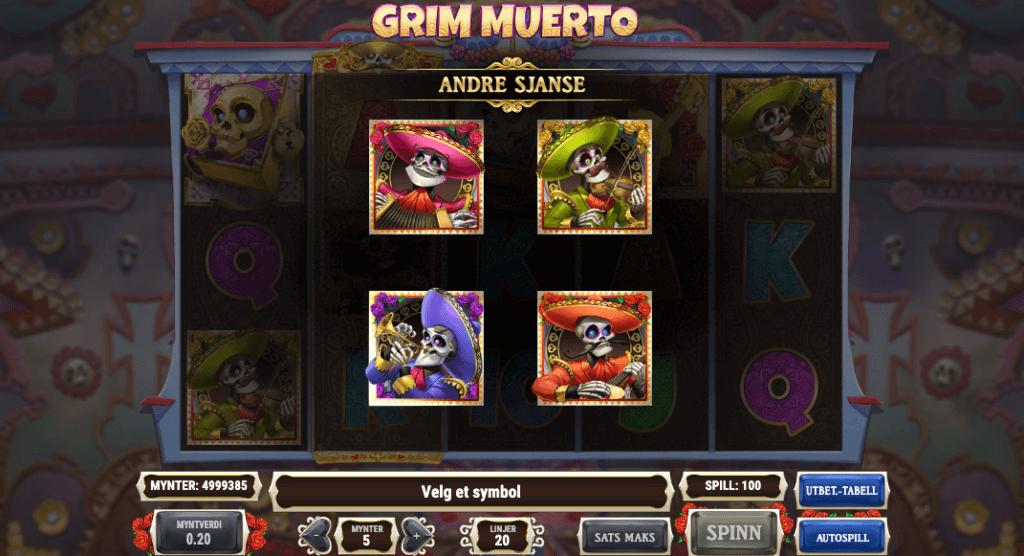 Grim Muerto - andre sjanse