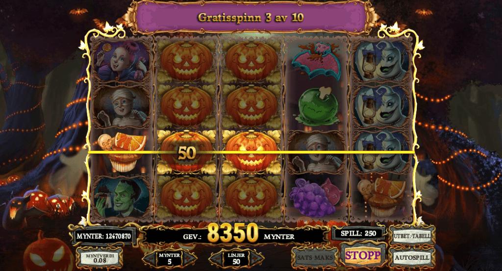 Happy Halloween free spins