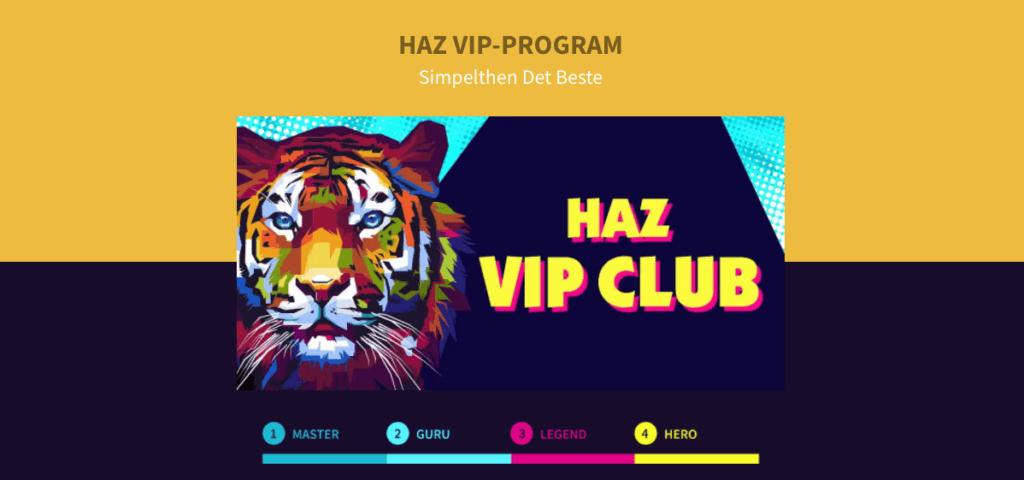 Haz Casino VIP-program