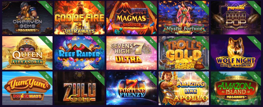 Haz Casino spilleautomater