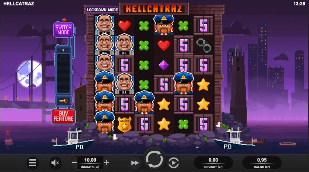 Hellcatraz hovedspill