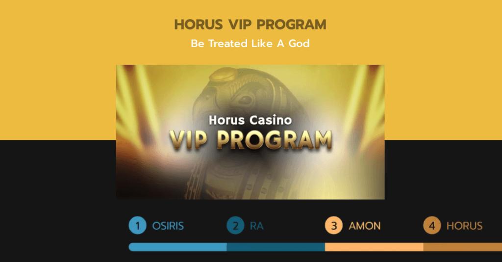 Horus Casino VIP-program