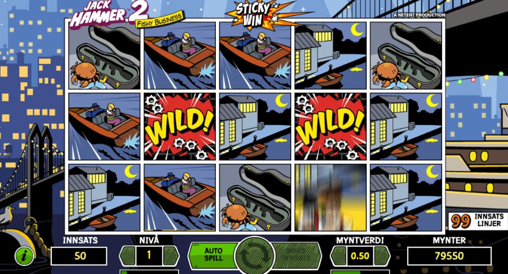 Jack Hammer 2: Fishy Business - Sticky Win
