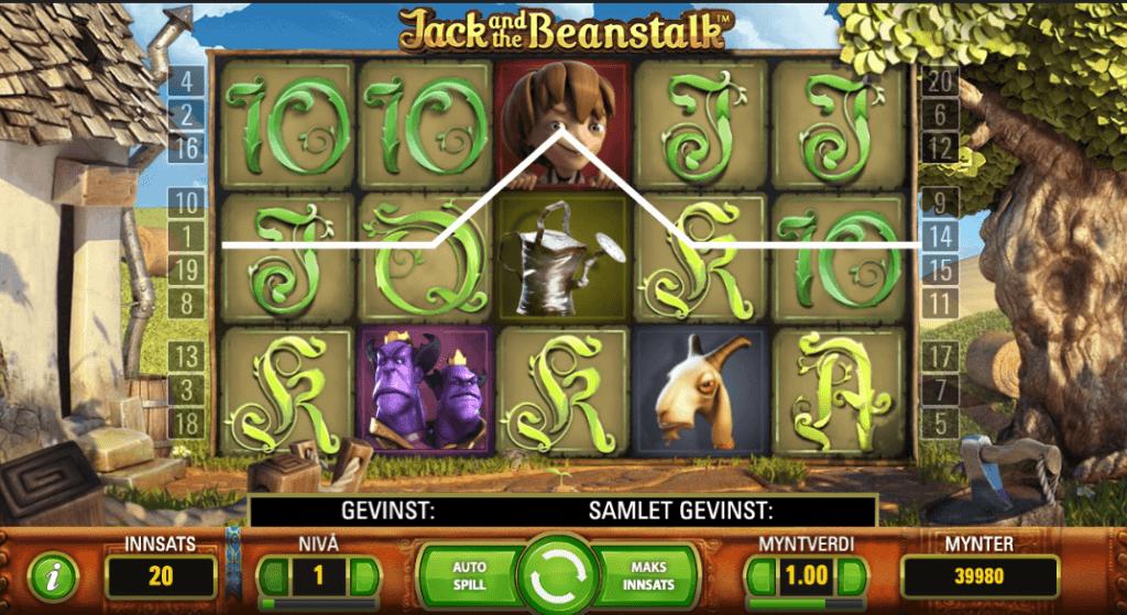Jack and the Beanstalk av NetEnt