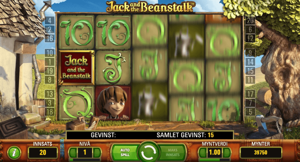 Jack and the Beanstalk - Walking wilds