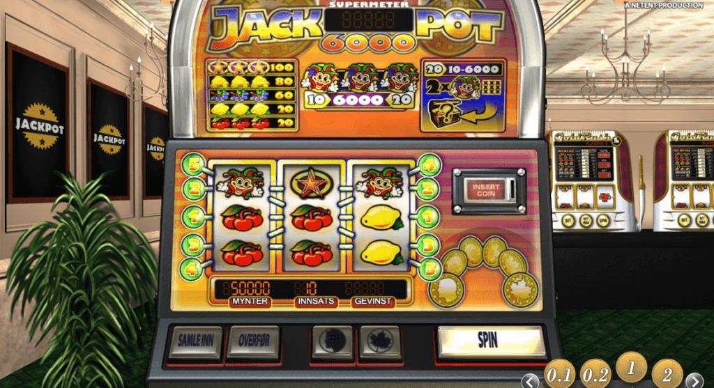 Jackpot 6 000 - En spilleautomat med høy RTP