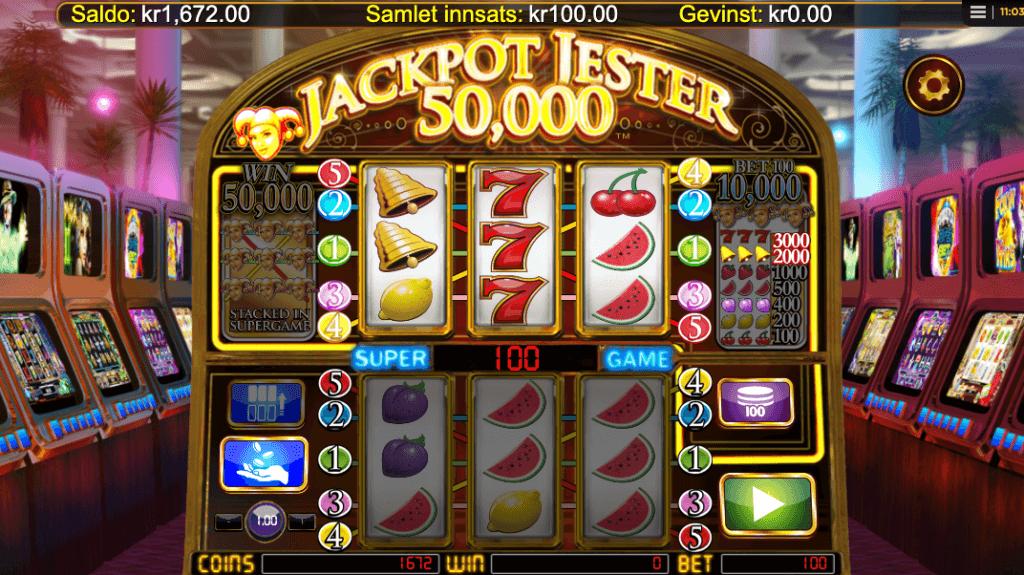 Jackpot Jester 50 000 - Super Game
