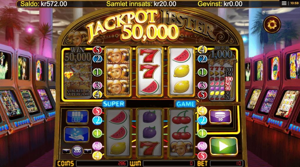 Jackpot Jester 50 000 av NextGen