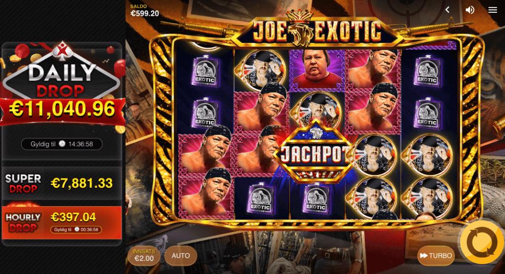 Spilleautomaten Joe Exotic hovedspill