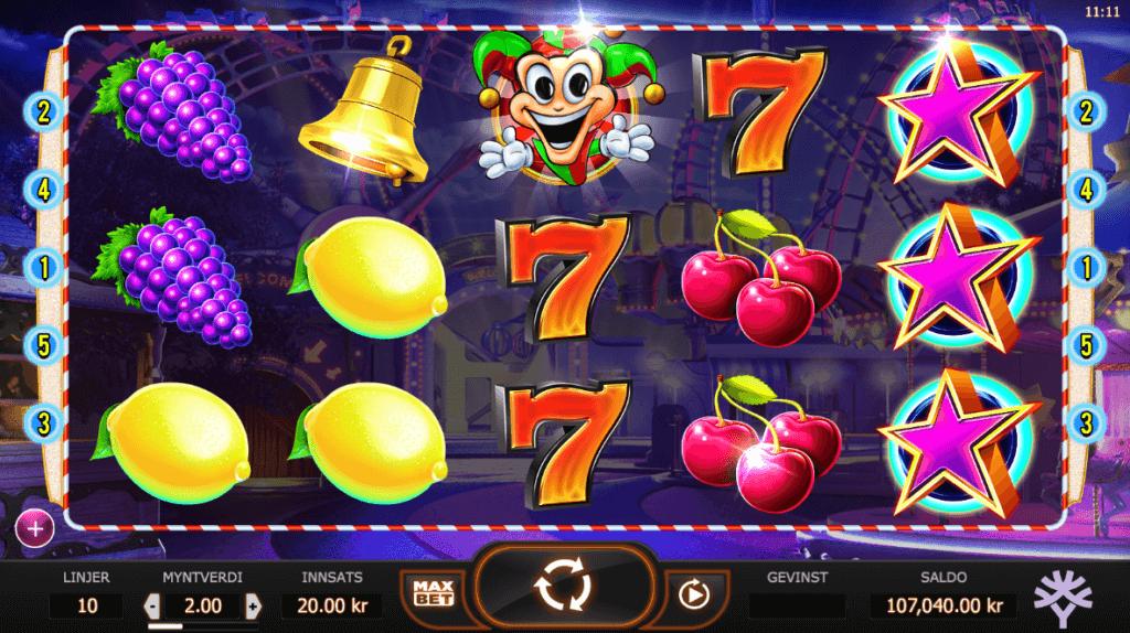 Jokerizer - Spilleautomat med høy RTP