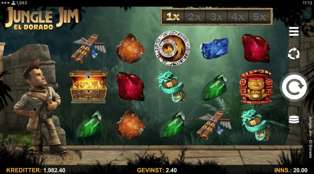 Jungle Jim - El Dorado av Microgaming