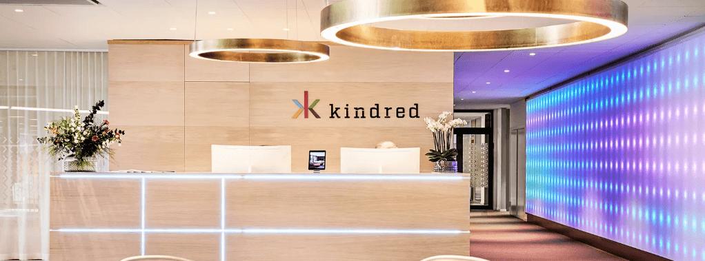 Screenshot av Kindred sitt kontor