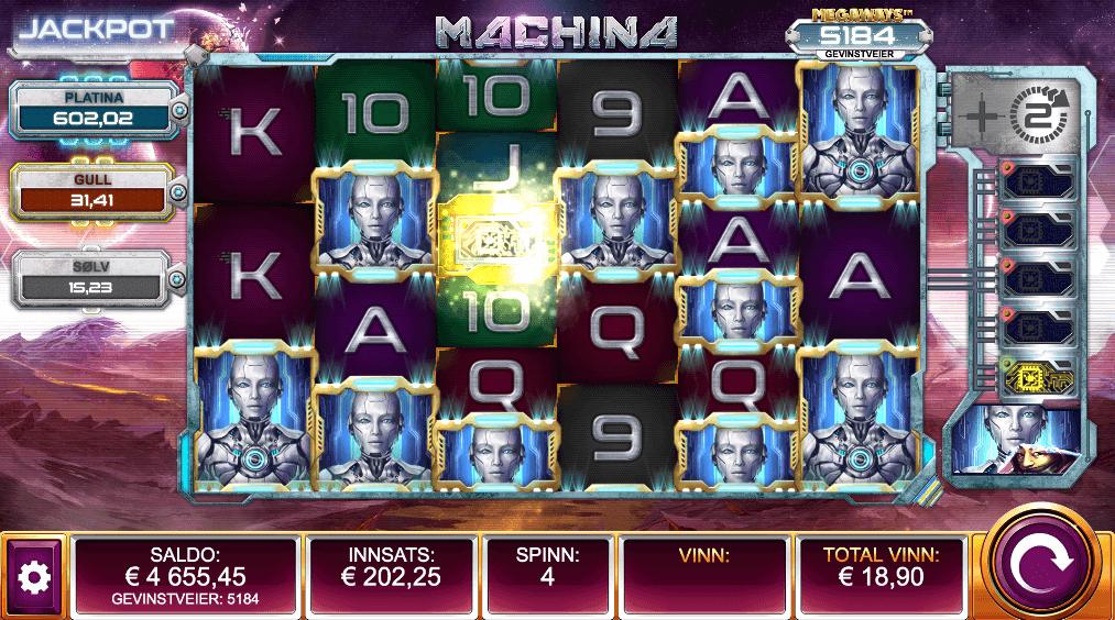 Machina Megaways™ free spins