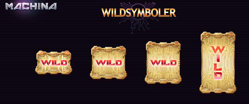 Machina Megaways™ wildsymboler