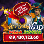 Mega Moolah-verdensrekord med en gevinst på 19.4 millioner euro