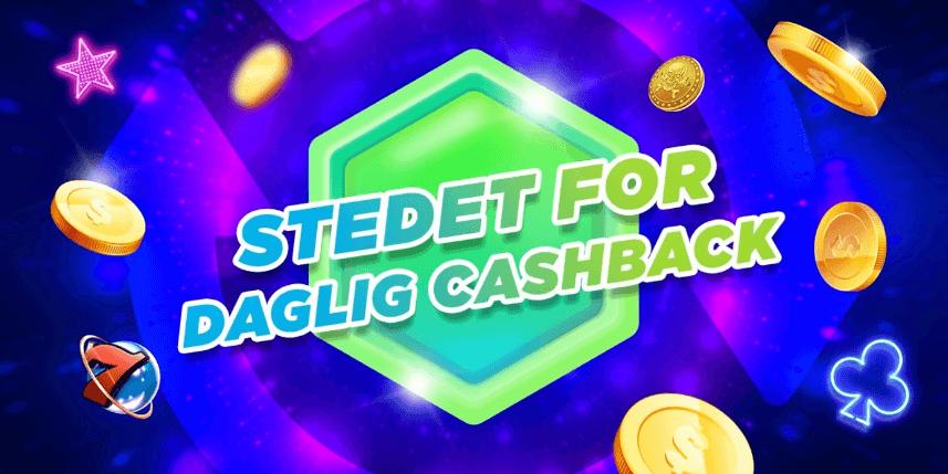 MegaRush er stedet for daglig cashback